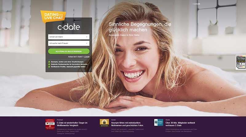 c-date.de die Startseite