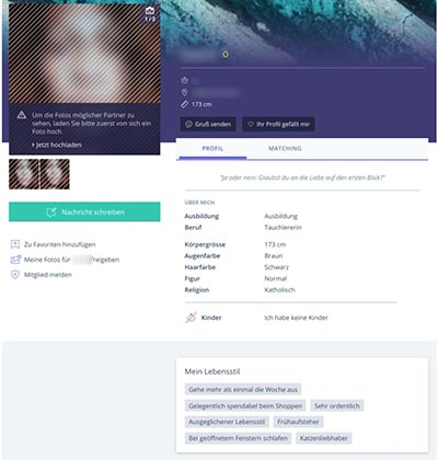 KultivierteSingles das Profil