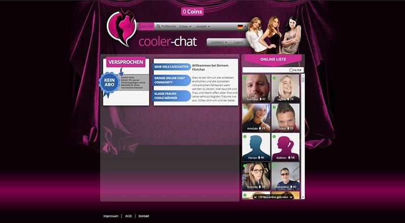 Cooler-Chat der Mitgliederbereich