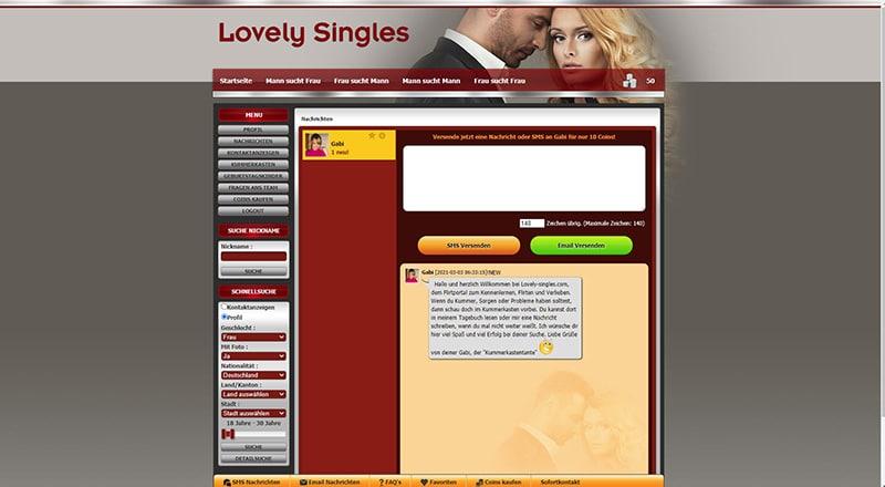 Lovely-Singles der Chat