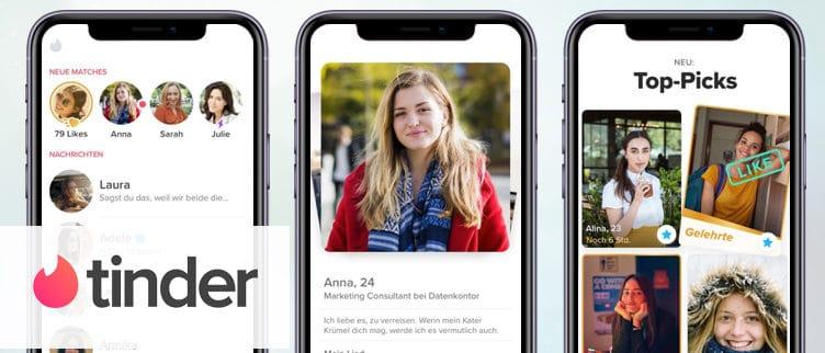 Tinder eine App Übersicht